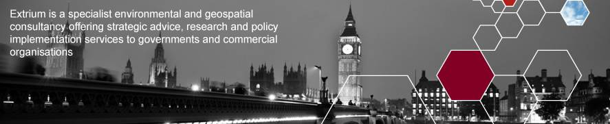 Extrium is a specialist environmental and geospatial consultancy offering strategic advice, research and policy implementation services to governments and commercial organisations